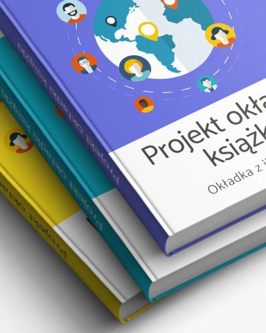 Projekt serii okładek książek